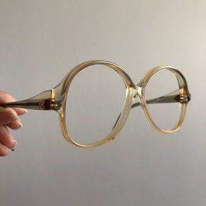 Pierre Cardin 1970s VTG Logo Eyeglasses Frames
